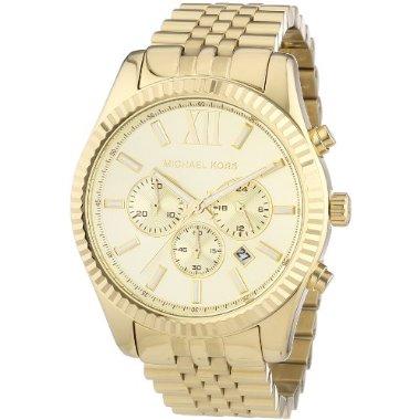 Michael Kors MK8281 Lexington Gold Men's Watch