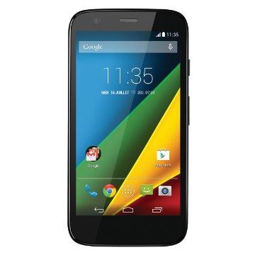 Motorola Moto G 4G Smartphone débloqué 4G, 8Go, Android 4.4 KitKat, Noir