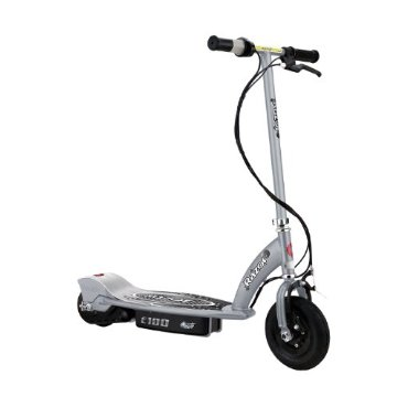 Razor E100 Electric Scooter (Silver)