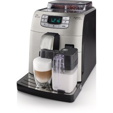 Saeco Intelia One Touch Fully Automatic Cappuccino and Espresso Machine ( HD8753/87)