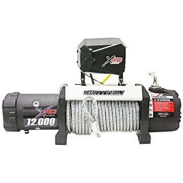 Smittybilt 97412 XRC Gen2 12k lb Winch with Steel Cable