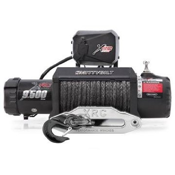 Smittybilt 98495 XRC Comp Gen2 Winch with Competition Aluminum, Synthetic Rope, 9.5k lbs
