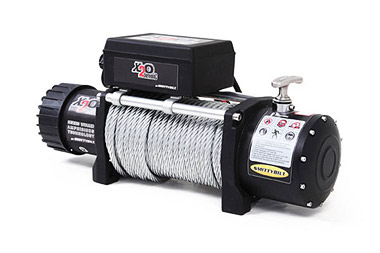 Smittybilt 98510 X2O Comp Gen2 10k Wireless Winch with Competition Aluminum, Synthetic Rope