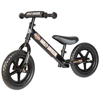 Strider Harley-Davidson 12 Sport No-Pedal Balance Bike (Black)