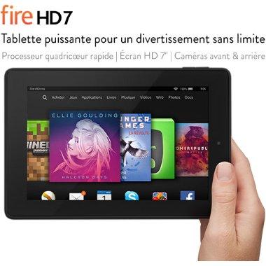 Tablette Fire HD 7 avec 8Go, Wi-Fi