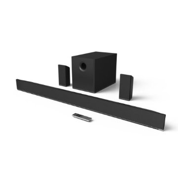 Vizio S5451w-C2 54 5.1 Home Theater Sound Bar with Wireless Subwoofer and Surround Speakers