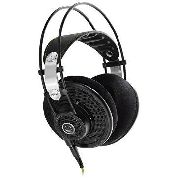 AKG Q701 Quincy Jones Signature Reference-Class Premium Headphones - Black