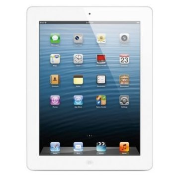 Apple iPad 16GB with Retina Display WiFi Tablet (4th Generation, White, MD513LL/A)