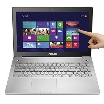 Asus N550JK-DS71T 15.6 Full-HD Touchscreen Quad Core i7 Laptop w/ Aluminum-Body, 8GB RAM & 1TB HD