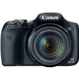 Canon PowerShot SX520 HS 16MP Digital Camera with 42x IS Zoom (Black)