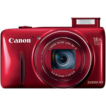 Canon PowerShot SX600 HS 16.1MP 18x Zoom 3 LCD - Red