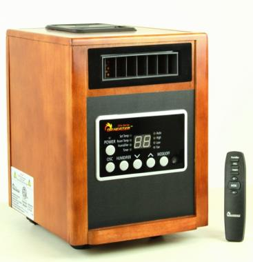 Dr. Heater DR-998 Elite 1,500 Watt Infrared Heater with Humidifier