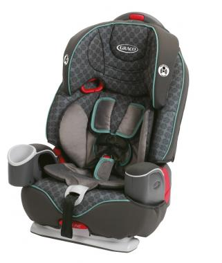 Graco Nautilus 3-in-1 Convertible Car Seat (Carson)