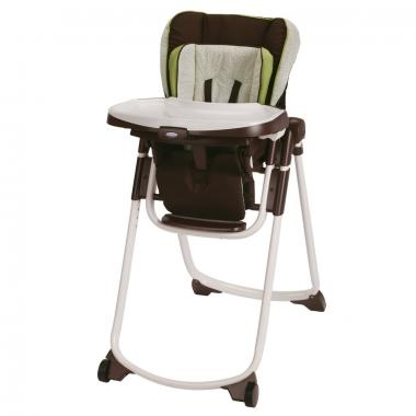 Graco Slim Spaces Highchair (Go Green)