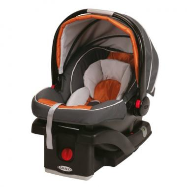 Graco SnugRide Click Connect 35 Car Seat (Tangerine)