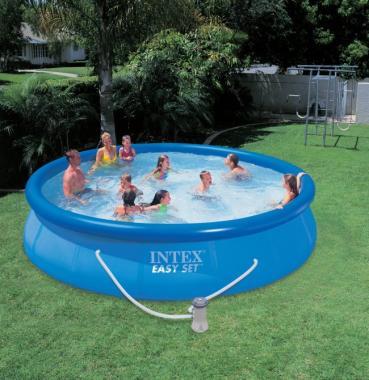 Intex Easy Set 15' x 36  Pool Set (28161EH)