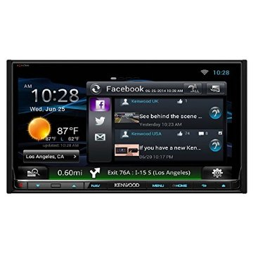 Kenwood eXcelon DNN992 6.95 Touchscreen Navigation Receiver