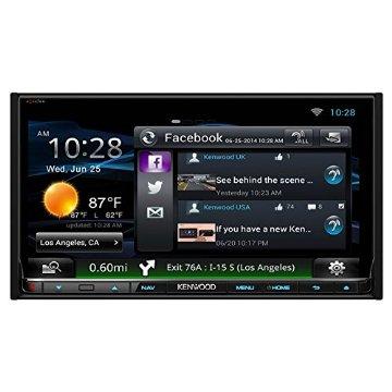 """Kenwood eXcelon DNN992 6.95"""" Touchscreen Navigation Receiver"""