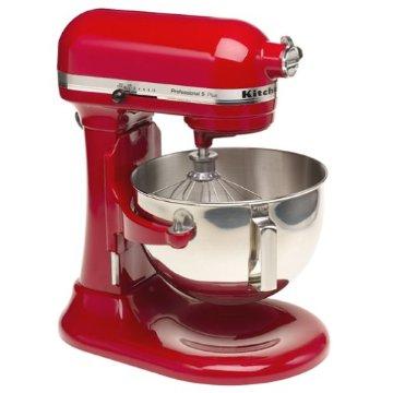 KitchenAid KV25GOXER Professional 5 Plus 5qt. Stand Mixer (Empire Red)