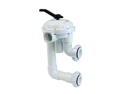 Pentair 261050 2 HiFlow Valve with Plumbing Replacement Pool/Spa D.E. and Sand Filter