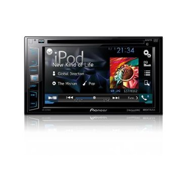 Pioneer AVH-X2700BS Double DIN In-Dash DVD Receiver with Sirius, Mixtrax, and AppMode
