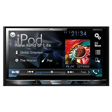 "Pioneer AVH-X4700BS DVD Receiver with 7"" Motorized Display"