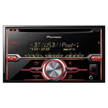 Pioneer FH-X720BT 2-DIN CD Receiver with Mixtrax, Bluetooth for Hands-Free, Siri Eyes Free, USB, Pandora, Android Music Support