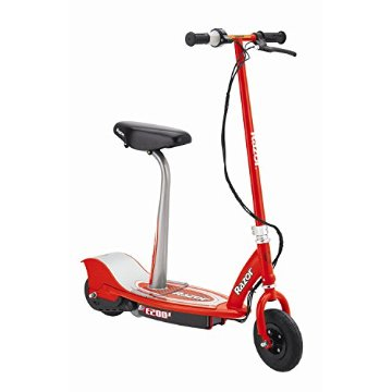 Razor E200S Seated Electric Scooter (Red)