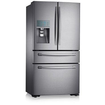 Samsung RF24FSEDBSR Stainless Steel 24 cu. ft. Counter Depth 4-Door Refrigerator with FlexZone Drawer