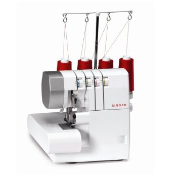 Singer 14CG754 ProFinish 2-3-4 Thread Serger with Intro DVD