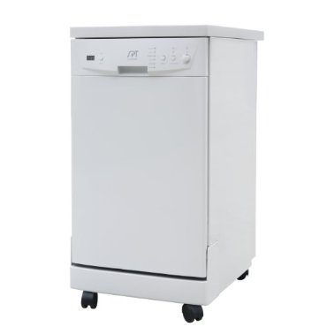 Sunpentown SD-9241W 18 Portable Dishwasher with Energy Star (White)