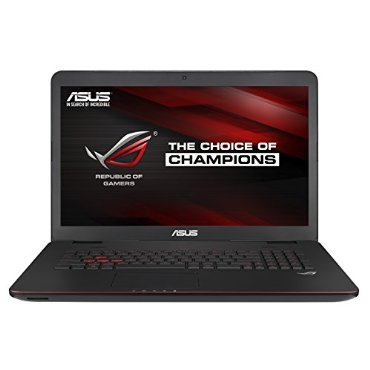 Asus ROG GL771JM-DH71 17.3 Inch Intel Core i7-4710HQ 2.5GHz Gaming Laptop