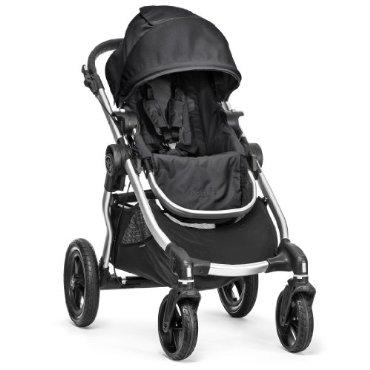 Baby Jogger City Select Silver Frame Stroller, Onyx