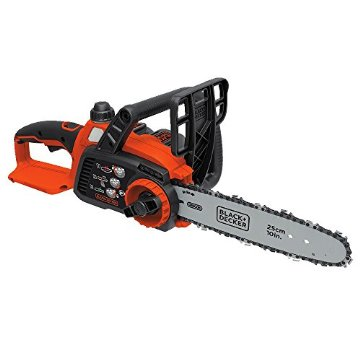 Black & Decker LCS1020 10 20V Max Lithium Ion Chainsaw with Battery, Charger