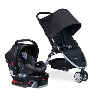 Britax B-Agile 3 with B-Safe 35 Travel System (Black)