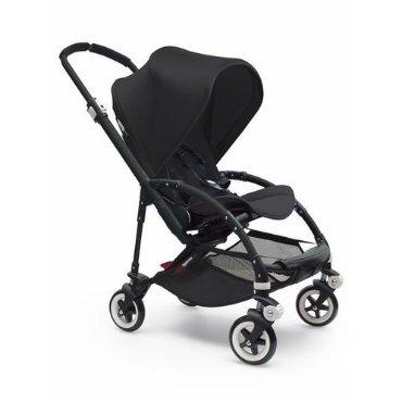 Bugaboo Bee 3 Black Frame Stroller With Black Seat (Black)