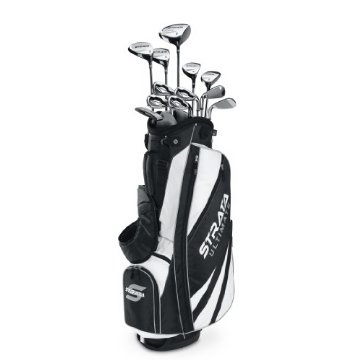 Callaway Strata Ultimate Complete 18pc Golf Club Set with Bag (Right Hand)