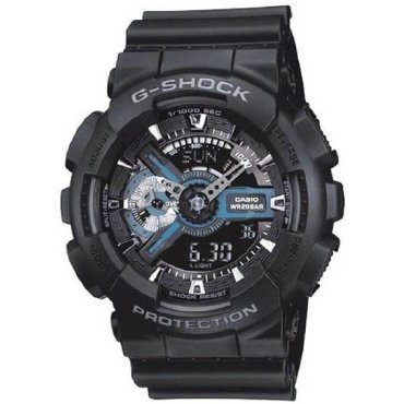 Casio GA110-1B G-Shock X-Large Combination Watch (Military Black)