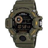 Casio GW-9400-3CR G-Shock Rangeman Master Of G Series Watch (Green)