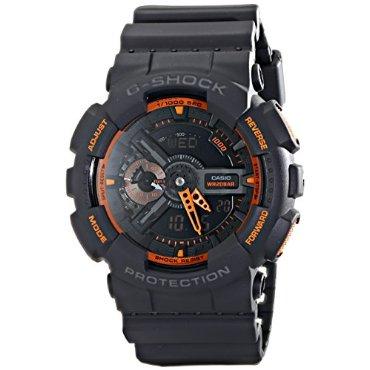 Casio Men's GA-110TS-1A4 G-Shock Analog-Digital Display Quartz Grey Watch