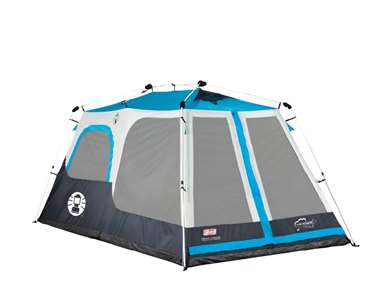 Coleman Weather Tec Instant 8 Person Tent (Blue, 14x10')