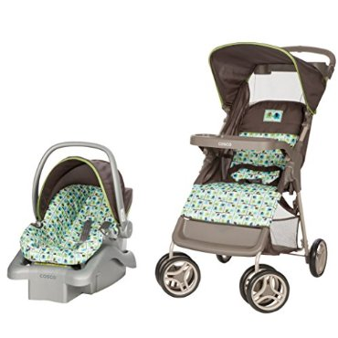 Cosco Lift and Stroll Travel System, Elephant Squares