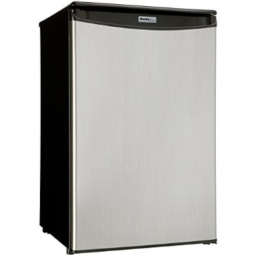 Danby DAR044A5BSLDD Compact All Refrigerator, Spotless Steel Door, 4.4 Cubic Feet