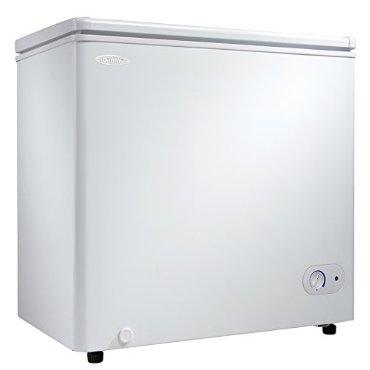 Danby DCF055A1WDB1 Chest Freezer, 5.5 Cubic Feet, White