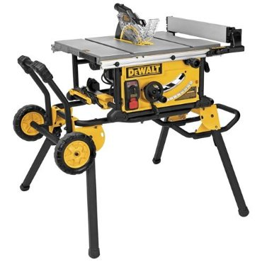 DeWalt DWE7499GD 10 Jobsite Table Saw with Rolling Stand and Guard Detect
