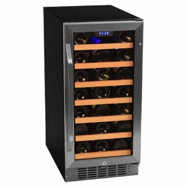 EdgeStar Built-In 30 Bottle Wine Cooler