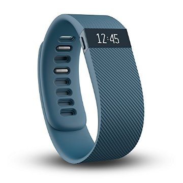 Fitbit Charge Wireless Activity Wristband (Slate, Large)
