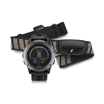 Garmin fenix 3 Performer Bundle with HRM-Run (Gray)