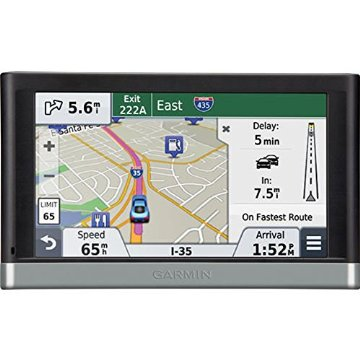 Garmin Nuvi 2598LMTHD Advanced Series 5 GPS Navigation System with Bluetooth (Certified Refurbished)