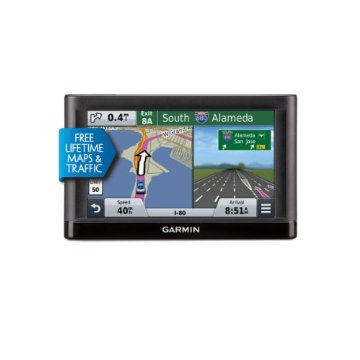 Garmin nuvi 65LMT GPS with Preloaded Lifetime US Maps and Traffic